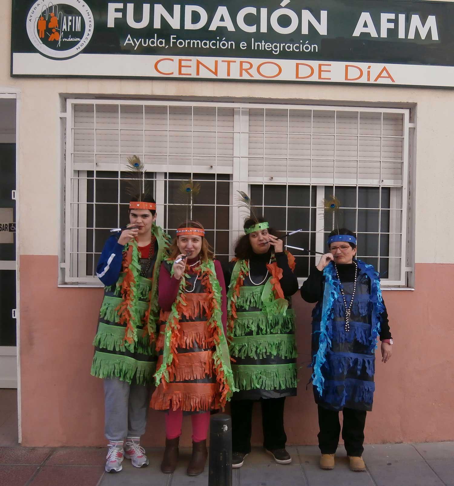 Actividades Fundación AFIM: TALLER DE ARTES ESCÉNICAS
